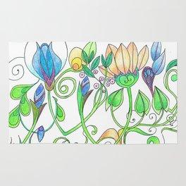 Flower Freize Rug