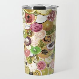 Fruit Madness (All The Fruits) Vintage Travel Mug