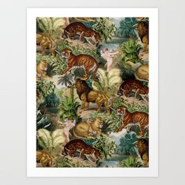 The beauty of the forest Art Print