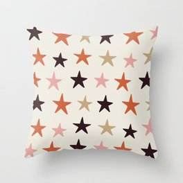 Star Pattern Color Throw Pillow