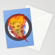 Chibi Human Torch Stationery Cards