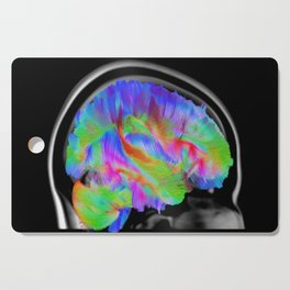 Brains in Color Cutting Board