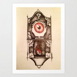 Eye of Time Art Print