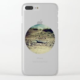 Broken umbrella Clear iPhone Case
