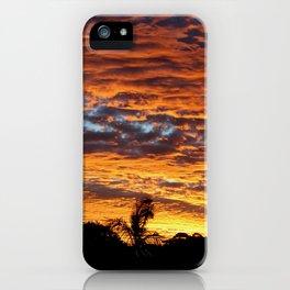 Sunset from the Sunshine Coast iPhone Case
