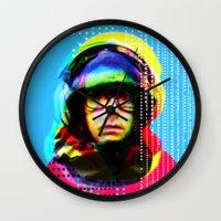 beastie boys Wall Clocks featuring Gioconda Music Project · Beastie Boys · Adam Yauch by Marko Köppe