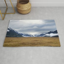 The Home of the Long White Cloud on the Road to Milford Sound Rug