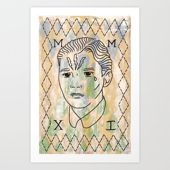 Hans Art Print
