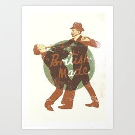 British Made Art Print