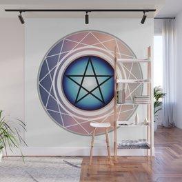 The Pentagram Wall Mural