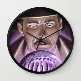 The detective of mistery Wall Clock