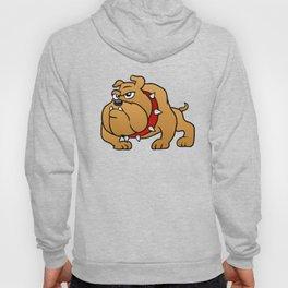 brown bulldog Hoody