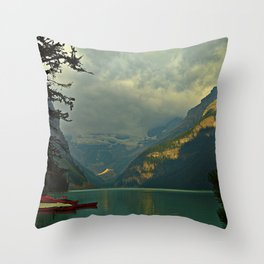 At A Loss For Words Throw Pillow