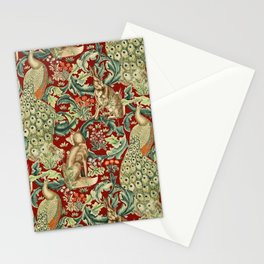 "William Morris ""Forest"" 2. Stationery Cards"