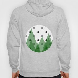 Christmas mountains Hoody