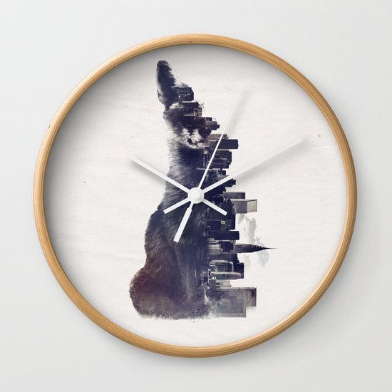 Fox from the City Wall Clock