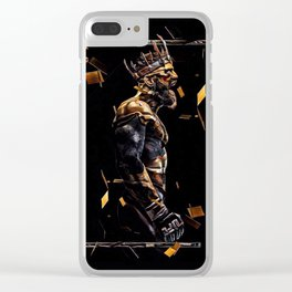The Irish King Clear iPhone Case