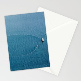 Salmon Seiner Stationery Cards