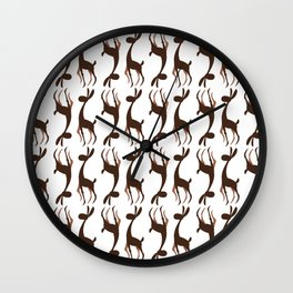 Model Rabbit Wall Clock