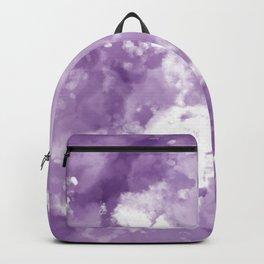 Plum Tie Dye  Backpack