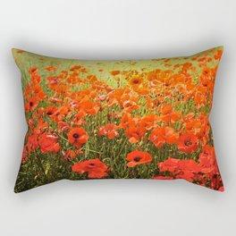 Field of poppies Rectangular Pillow