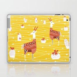 Antelope in the desert Laptop & iPad Skin