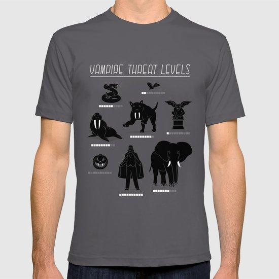 Vampire Threat Levels T-shirt