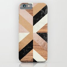 Copper Marble Wood iPhone 6s Slim Case