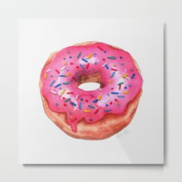 Donut - Pink Palette Metal Print