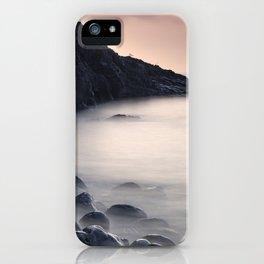 Serenity Ocean At Sunrise. Santiago Beach. La Gomera Island iPhone Case