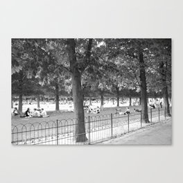 Luxembourg Gardens Canvas Print