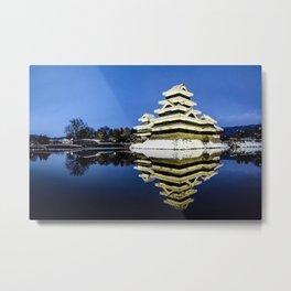 Matsumoto Castle Metal Print