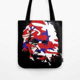 Genius in disguise art print Tote Bag