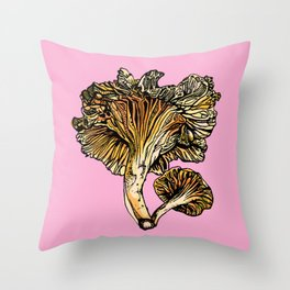 Chanterelle Throw Pillow