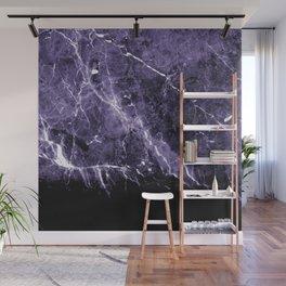 Ultra Violet Marble #1 #decor #art #society6 Wall Mural