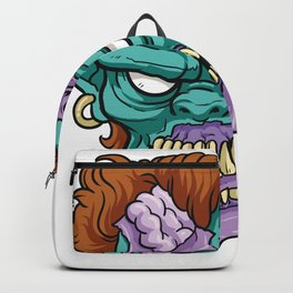 Zombie Horror Undead Gift Backpack