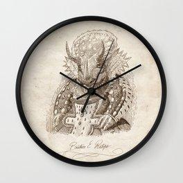 Béatrice E. Ratops Wall Clock