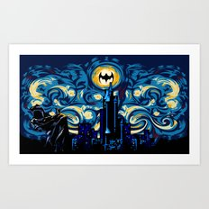 Starry Knight iPhone 4 4s 5 5c 6, pillow case, mugs and tshirt Art Print