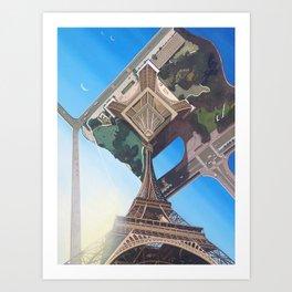 Don't Look Up Art Print