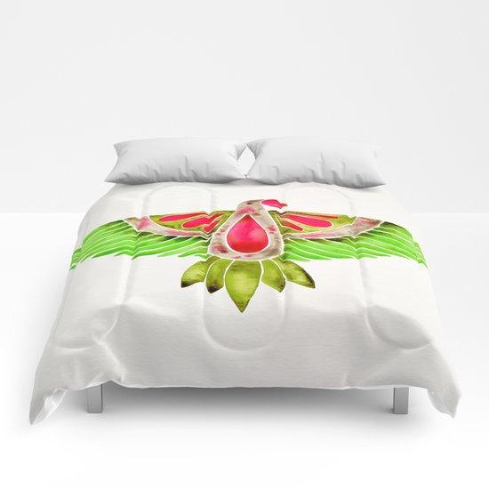 Lovebird Parrot Comforters