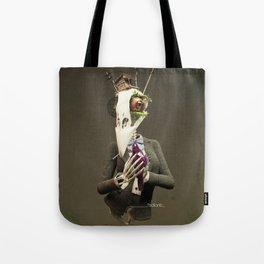 Skull bird Tote Bag