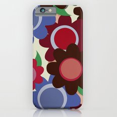 winter flowers Slim Case iPhone 6s