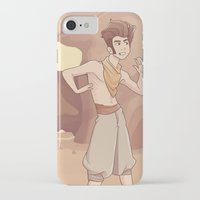 aladdin iPhone & iPod Cases featuring ALADDIN by Jaimie Hutton