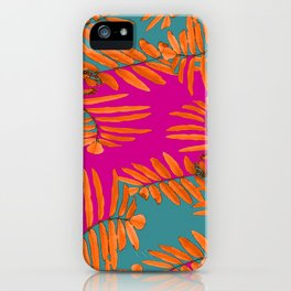 Leaves In Autumn Colors #decor #society6 #buyart iPhone Case