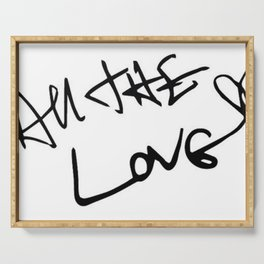 Harry Styles - All the Love Serving Tray