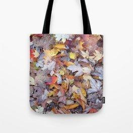 leaf litter menagerie Tote Bag