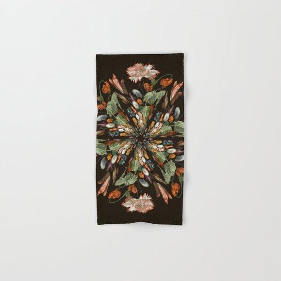 Flemish Floral Mandala 3 Hand & Bath Towel