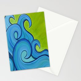 Surf Art 4 Stationery Cards