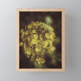 Yellow Soft Tones Framed Mini Art Print