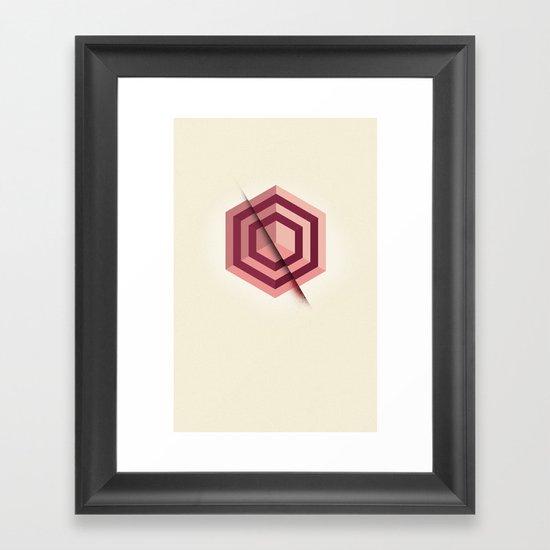 (e)viscera Framed Art Print
